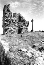 Thirteenth Century Abbey Remains on Bardsey Island